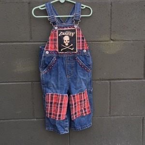 Other - Adorable custom unisex jean overalls for kids!
